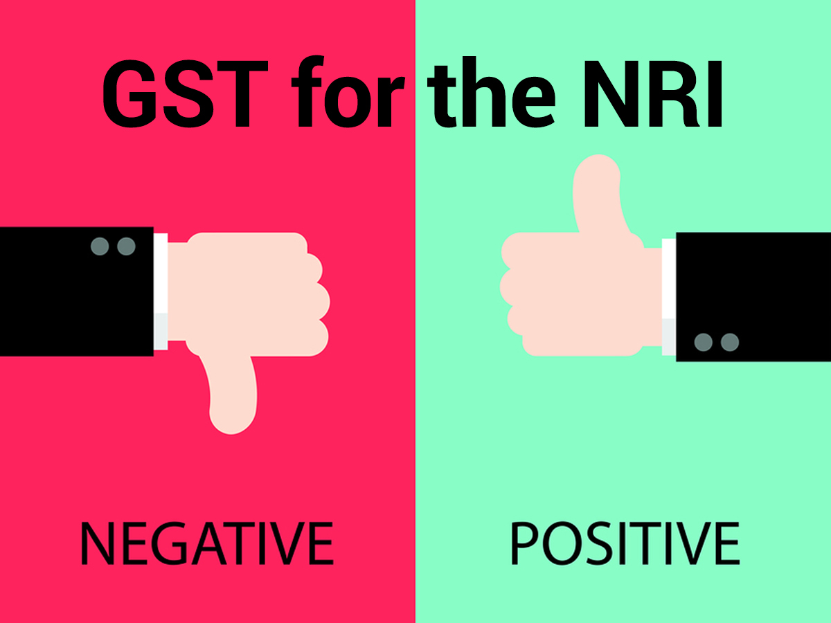 For the NRI – Impact of GST Until Now