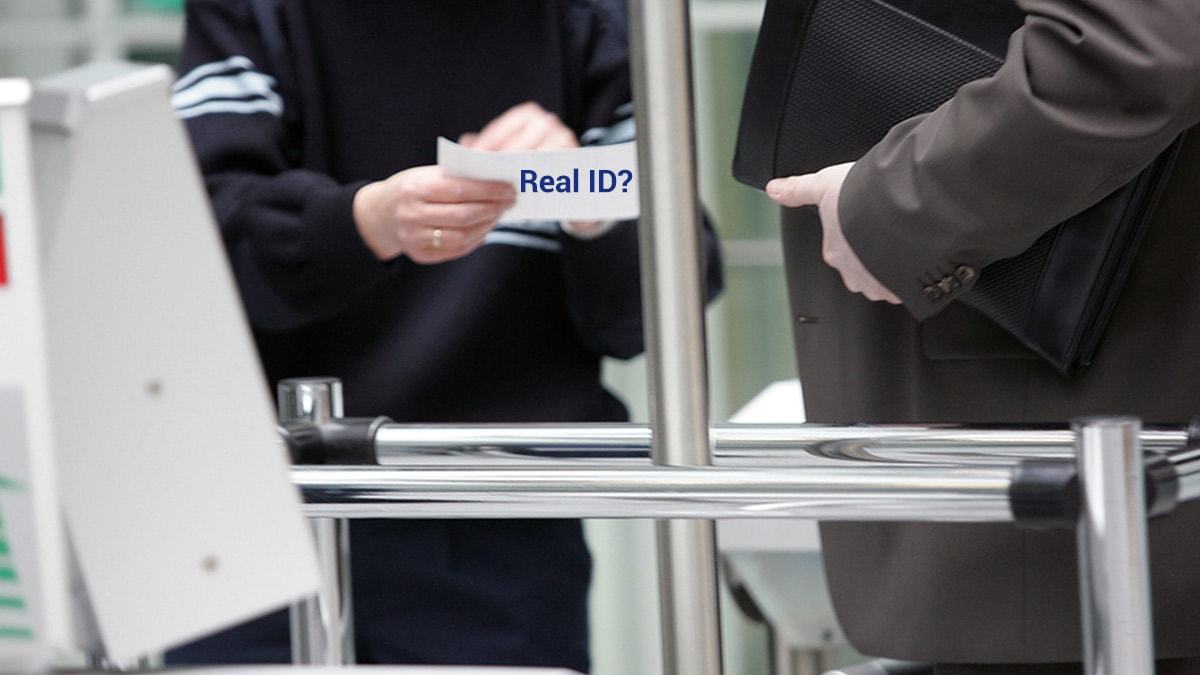 Real ID Required for domestic flights