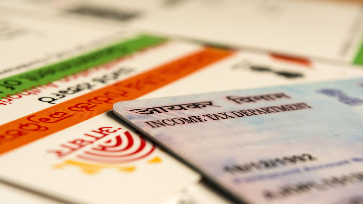 image showing the linking of aadhaar and PAN card