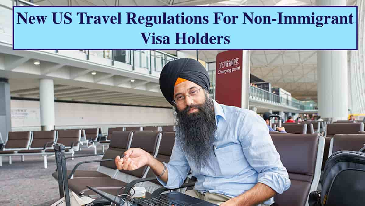 Travel rules for US travelers