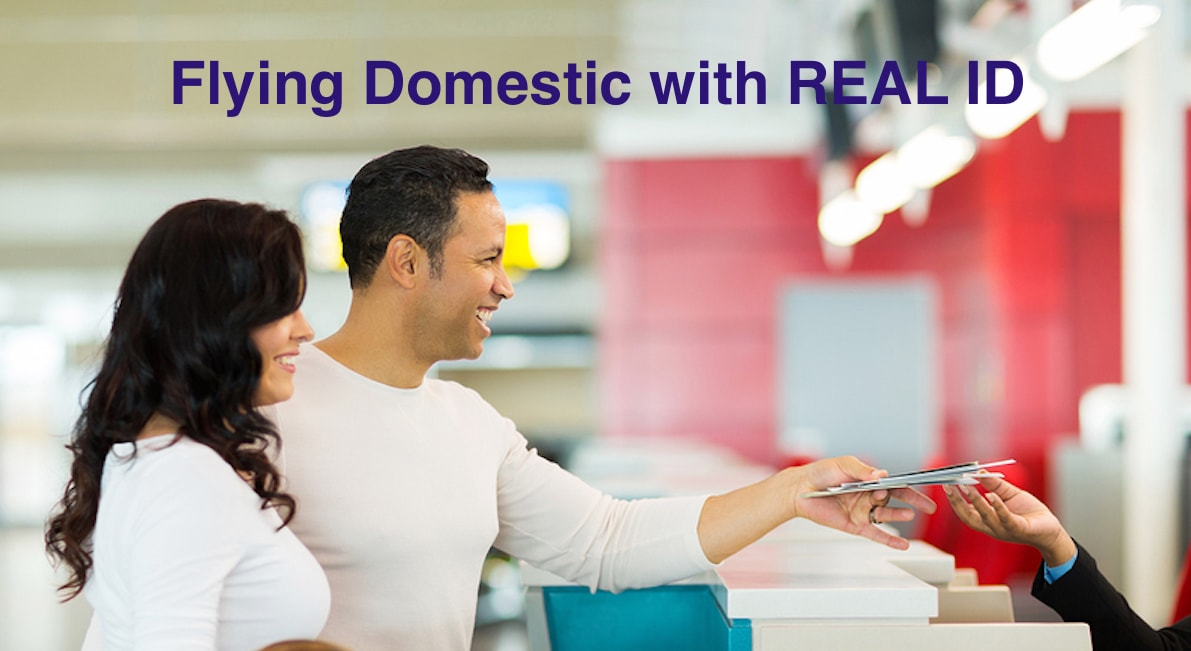 Family flying domestic with REAL ID