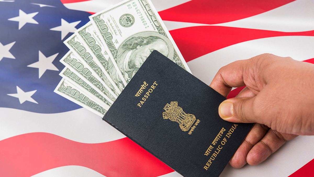 Paying money to get EB5 visa to US
