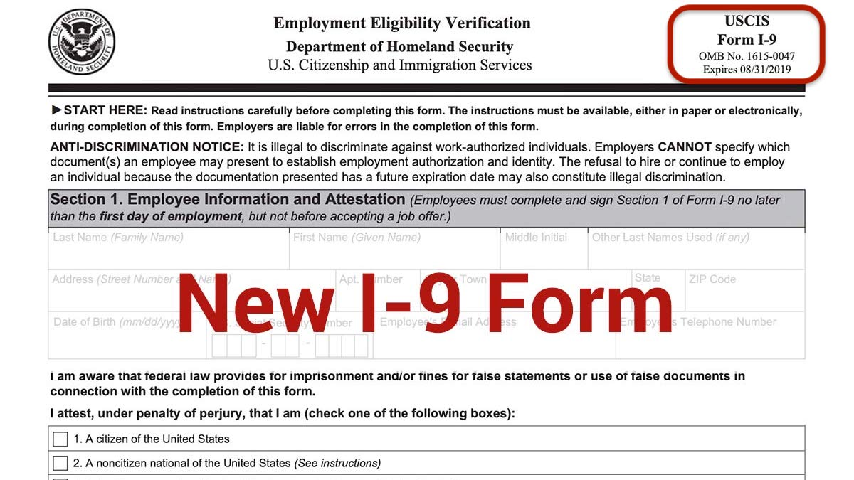form i-9 fines  USCIS Asks Employers to Continue Using Expired Form I-8