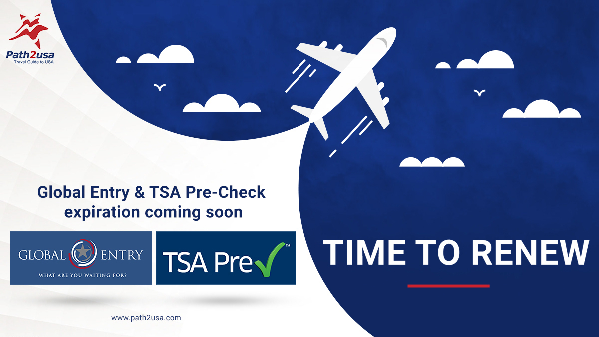 Global Entry & TSA Pre-Check Expiring Soon