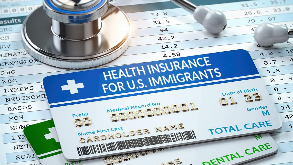 Mandatory health insurance for US immigrants