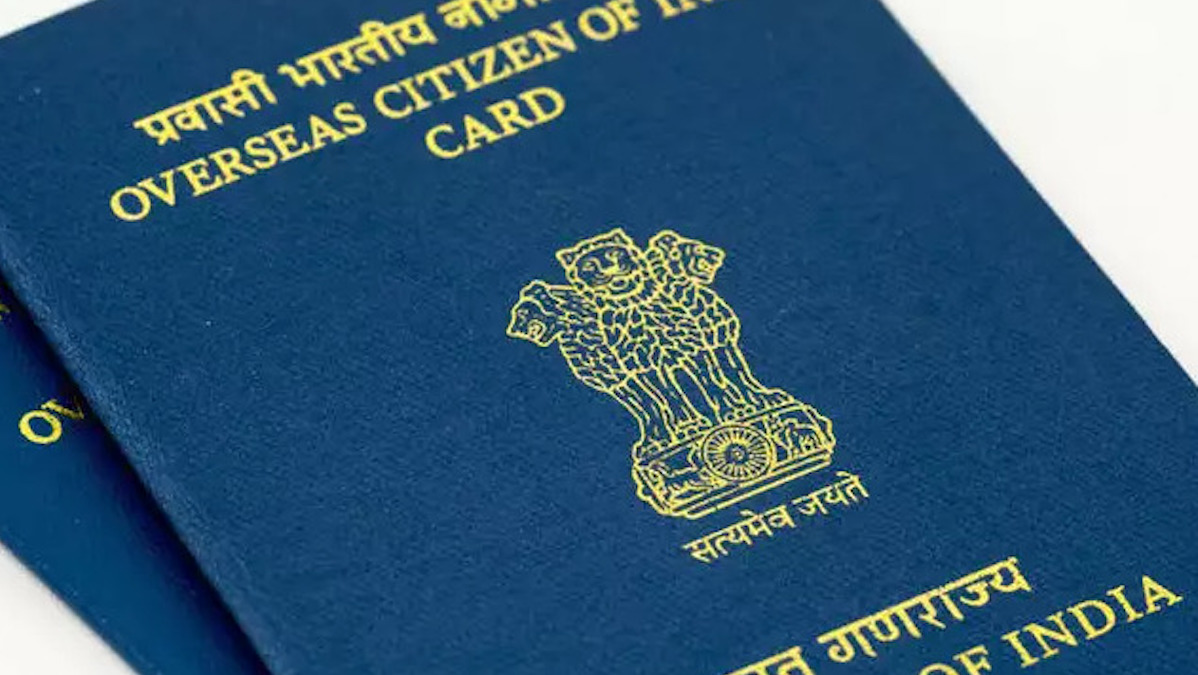OCI card requirement for indian americans