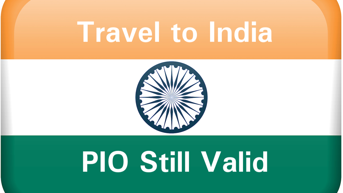 PIO Still valid on Indian Flag