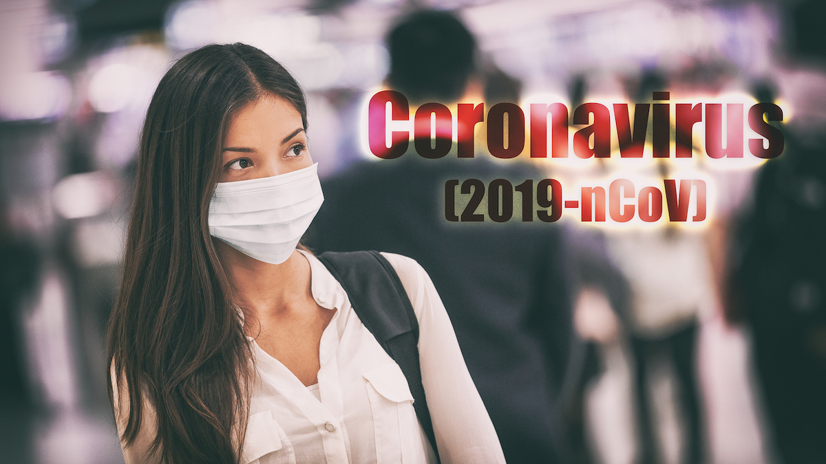 travel with mask for coronavirus