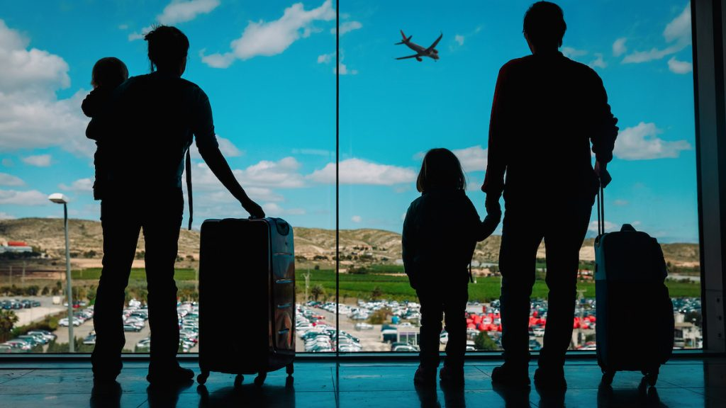 Family waiting to get visa extension