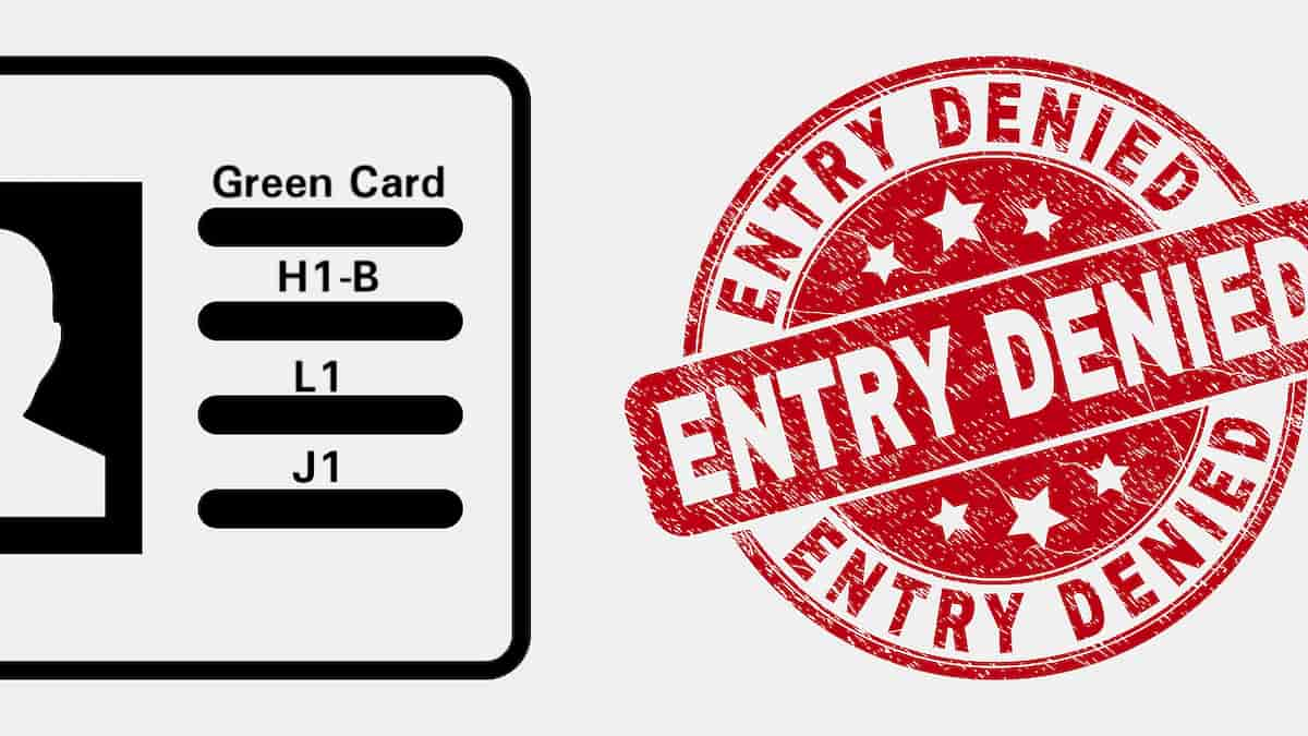 H1-B entry Ban extended