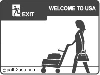 Exit the airport