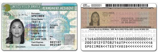 How do imagrents get their green card ?